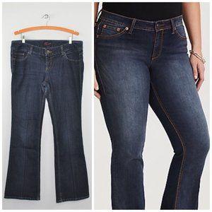Torrid Slim Bootcut Jeans Medium Wash Size 14 Blue